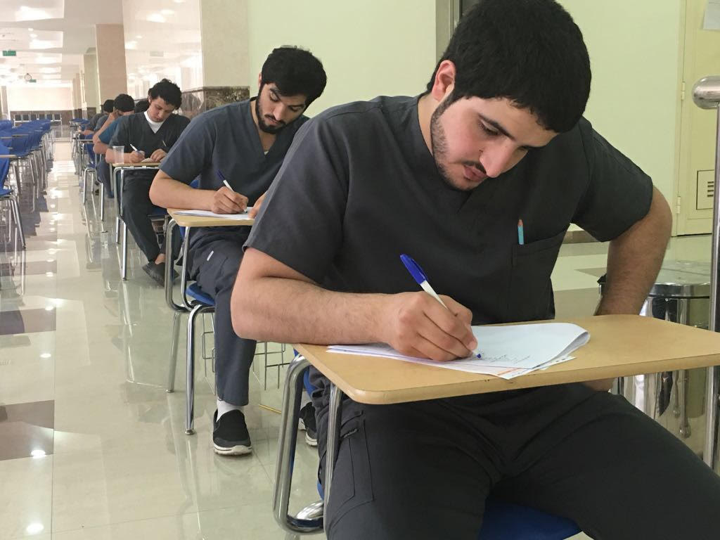 Twenty Thousand Students Started Final Exams